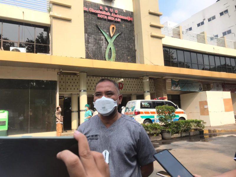 Direktur Utama RSUD CAM Kota Bekasi, Kusnanto Saidi